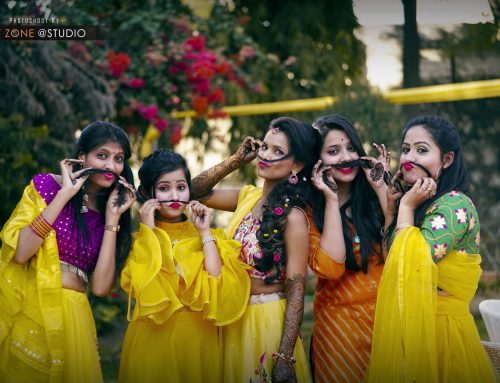 Wedding Shoot In Jaipur – Mehendi Ceremony