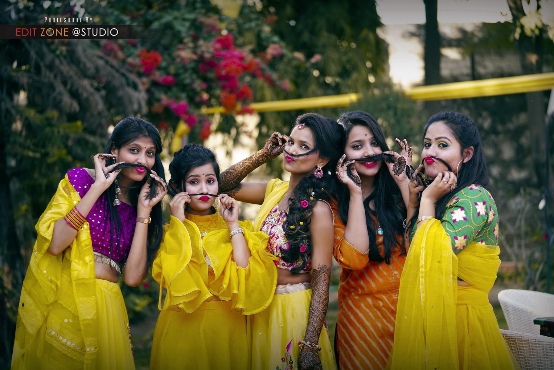 Wedding Shoot In Jaipur – Mehendi Ceremony